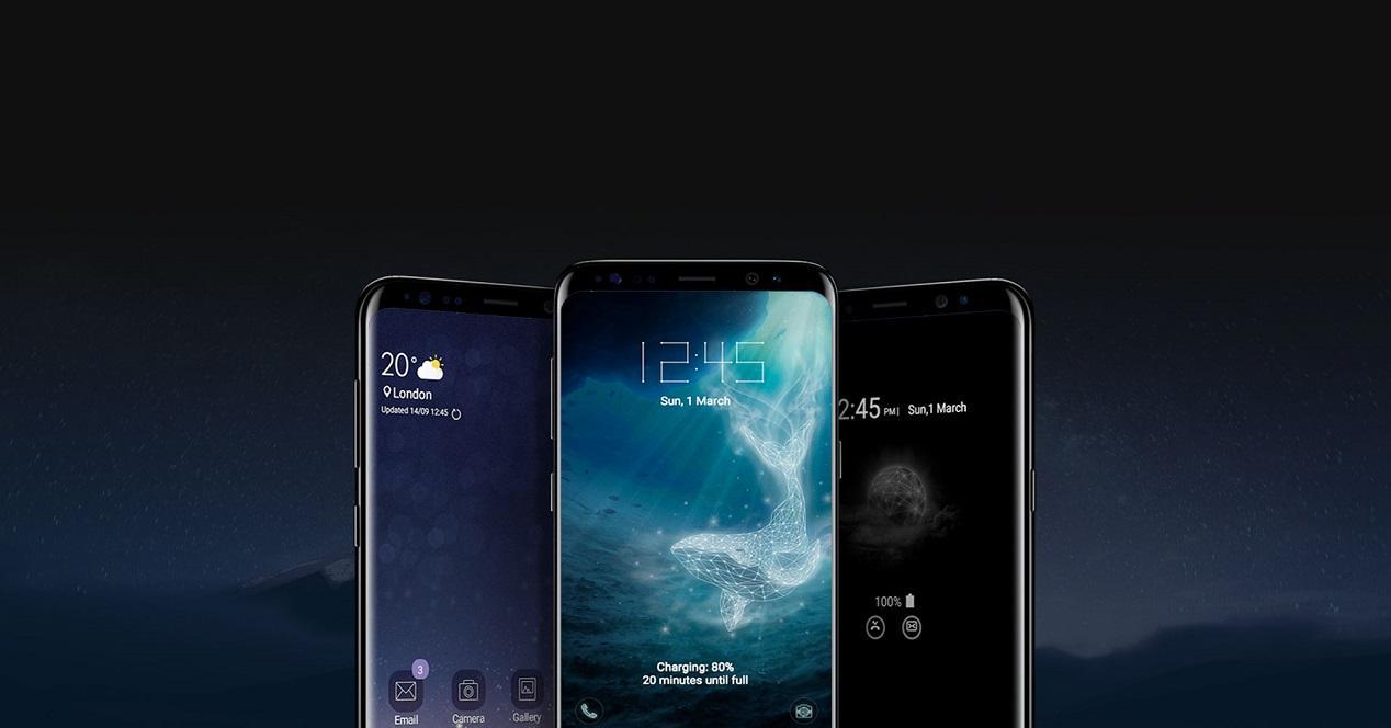 Ttemas personalizados para móviles Samsung Galaxy
