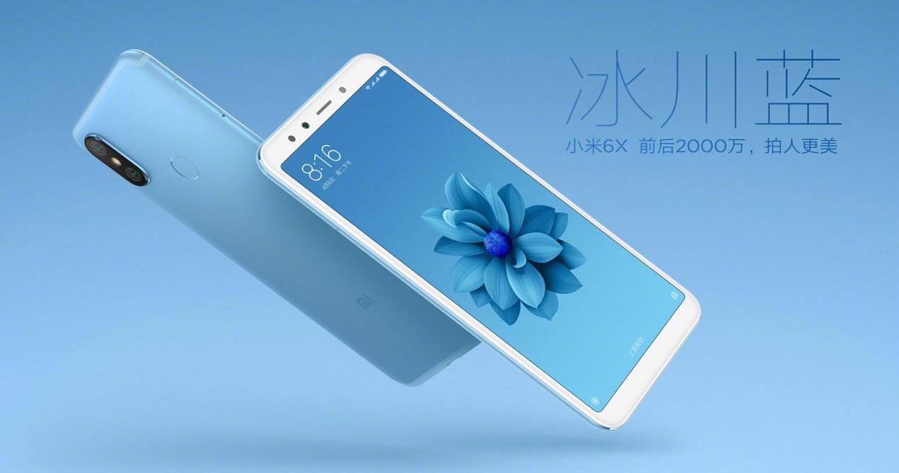 selfies del Xiaomi Mi 6X