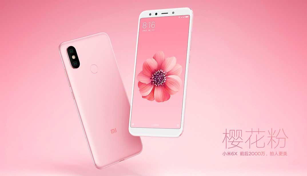 Xiaomi Mi 6X rosa