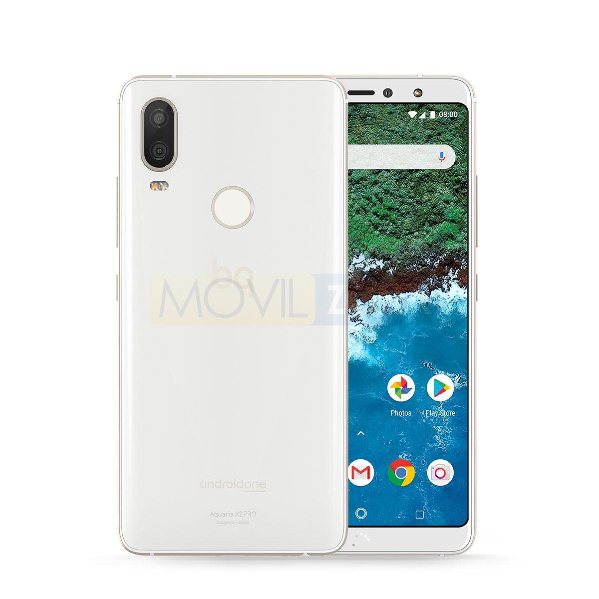 BQ Aquaris X2 Pro blanco