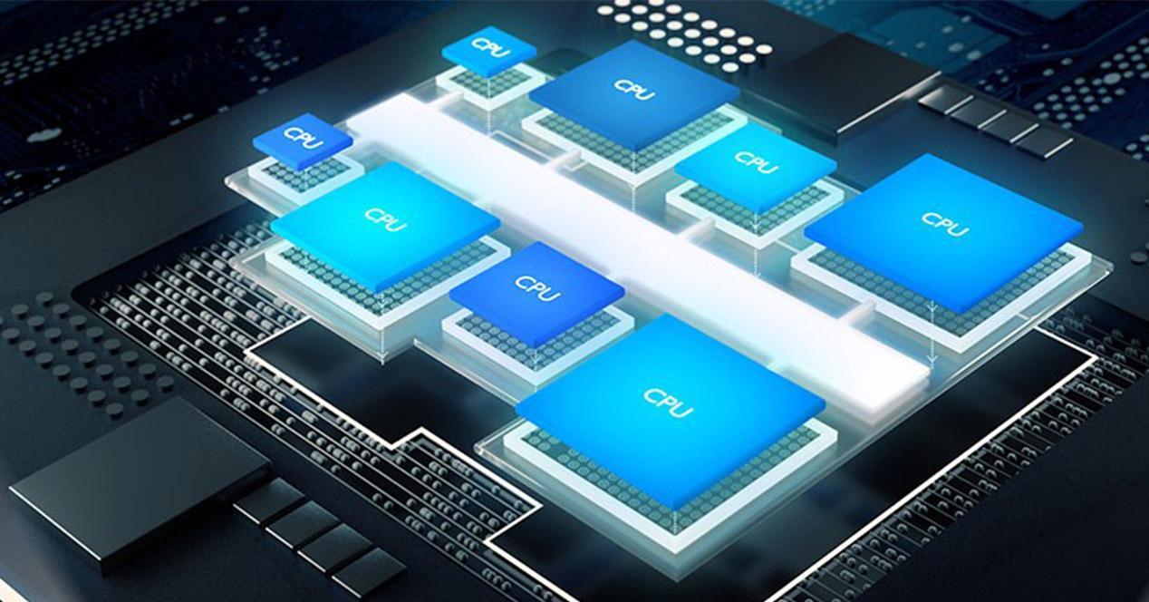 Arquitectura ARM Cortex de un procesador