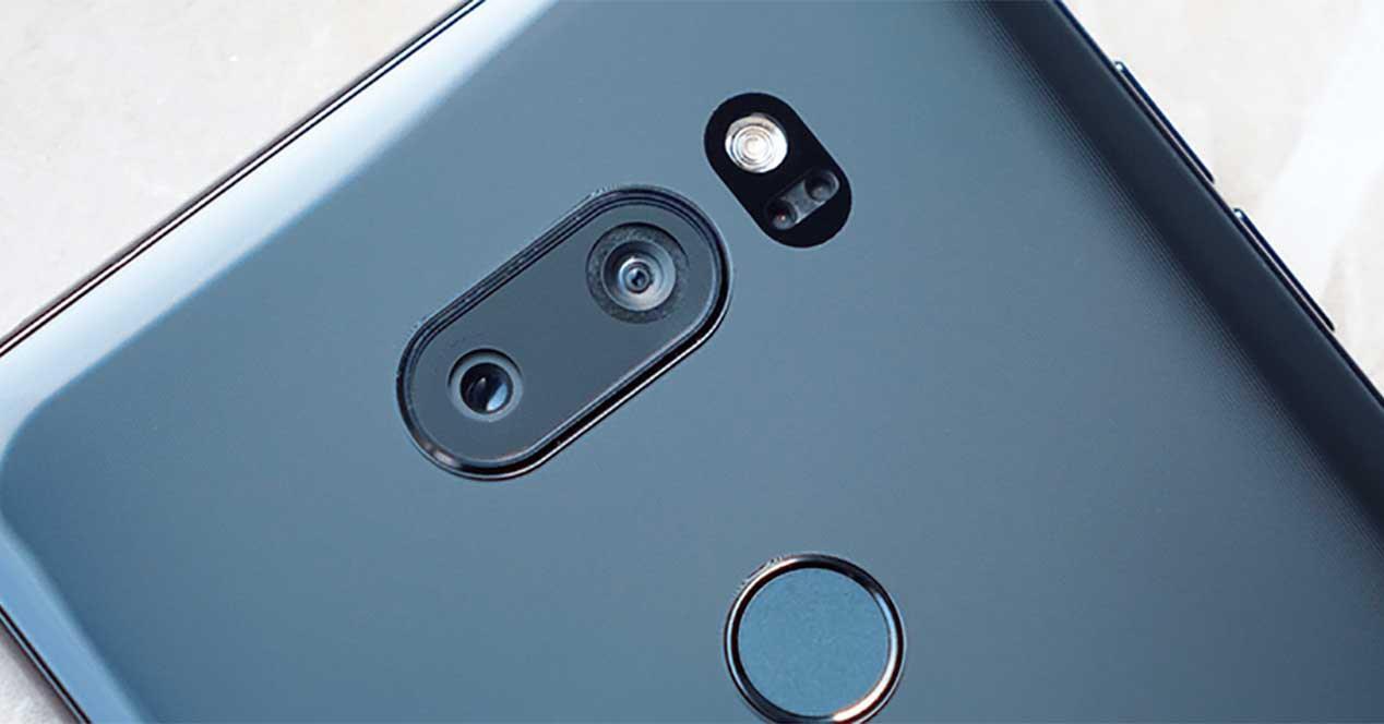 Diseño del LG V35 ThinQ