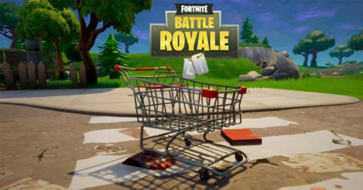 Carro de la compra en Frtnite Battle Royale