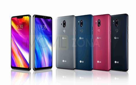 LG G7 Gama de colores