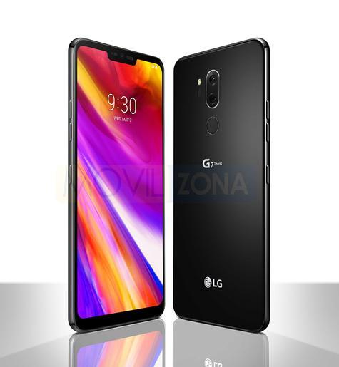 LG G7 negro