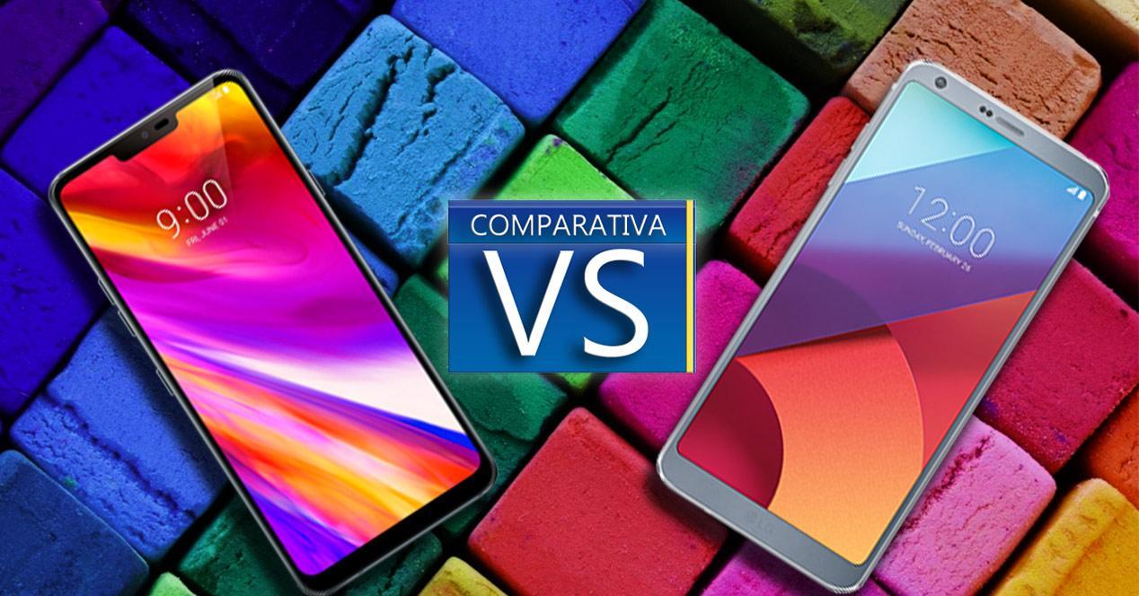 Comparativa LG G7 VS LG G6
