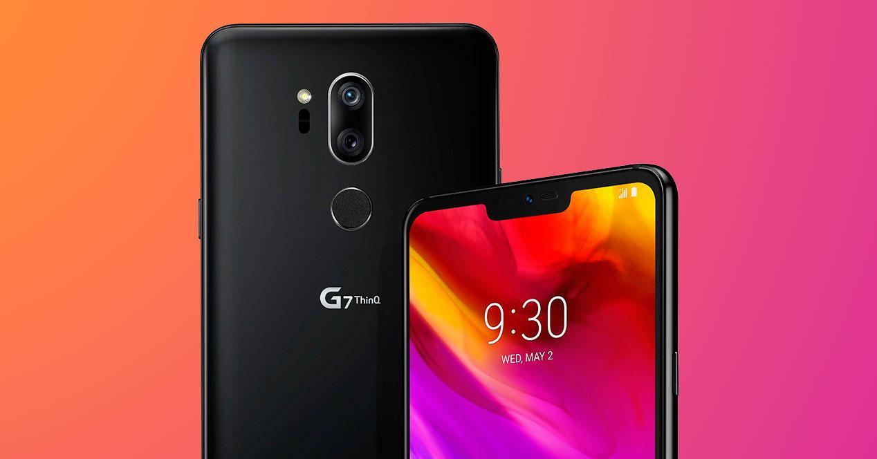 notch del LG G7 ThinQ