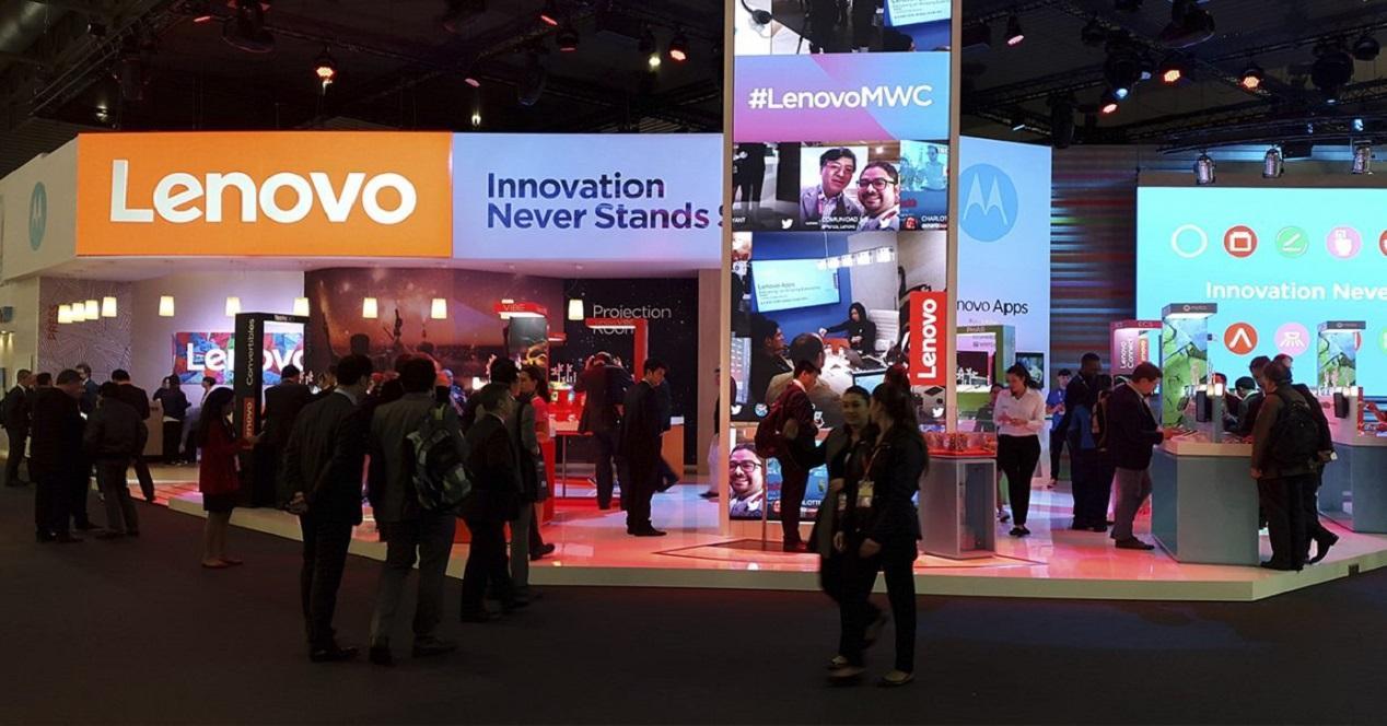 Stand de Lenovo