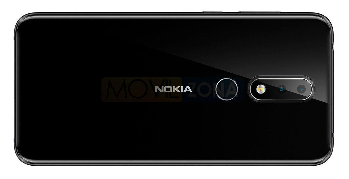 Nokia X6 2018 cámara