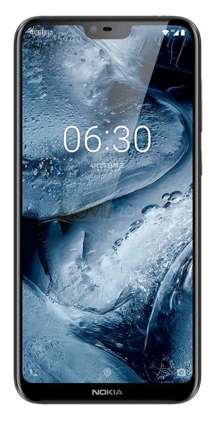 Nokia X6 2018 frontal