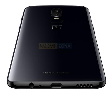 OnePlus 6 vista trasera