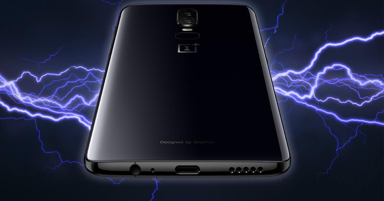 Carcasa trasera de cristal del OnePlus 6