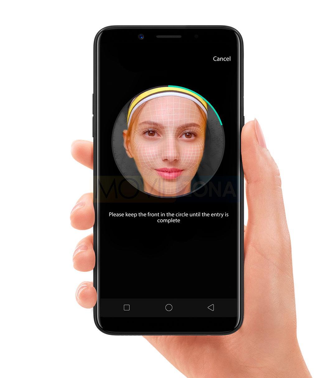 Oppo F5 Youth con reconocimiento facial