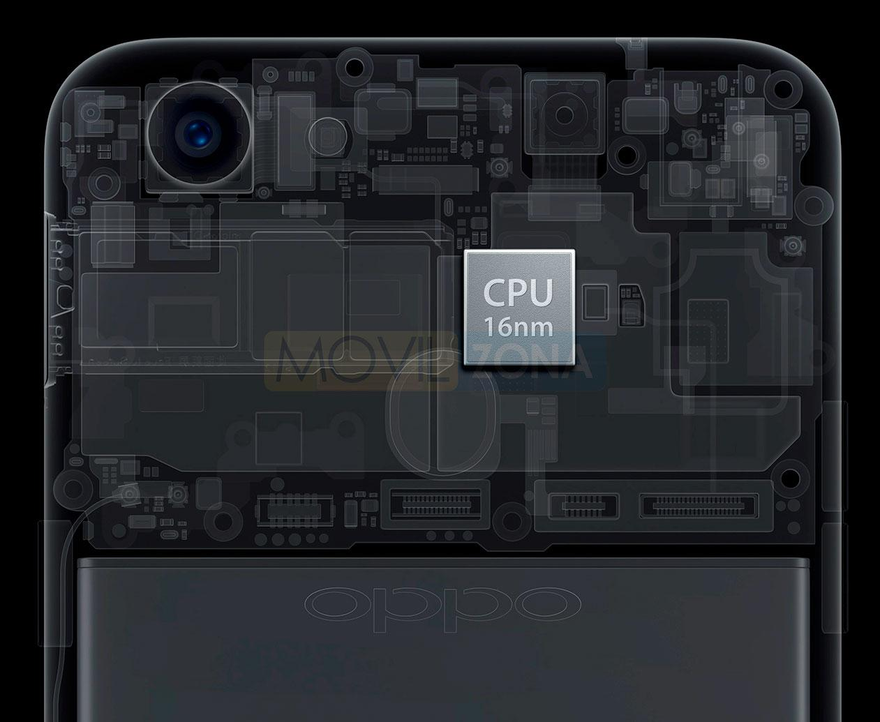 Oppo F5 Youth procesador