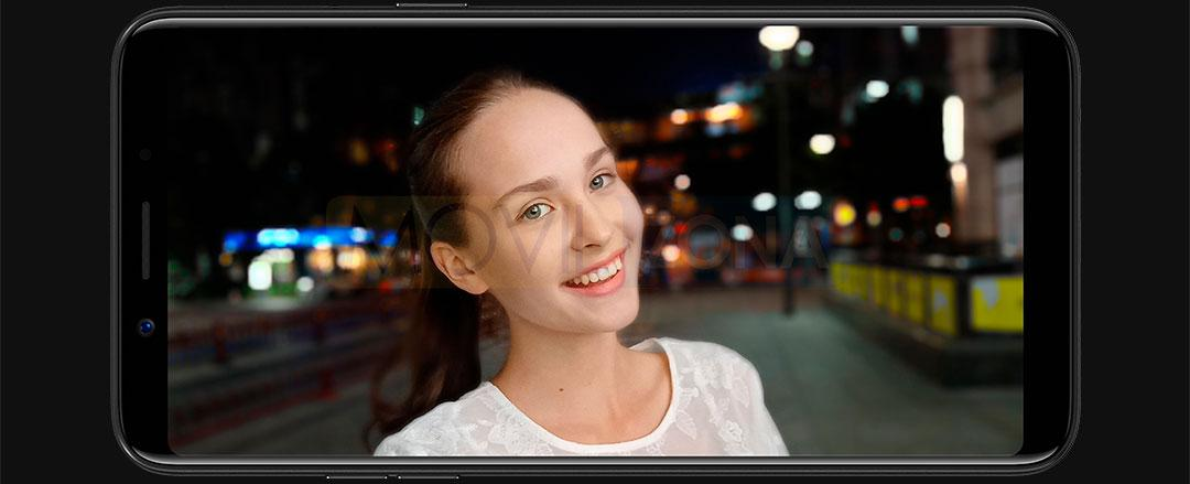 Oppo F5 Youth panorámico