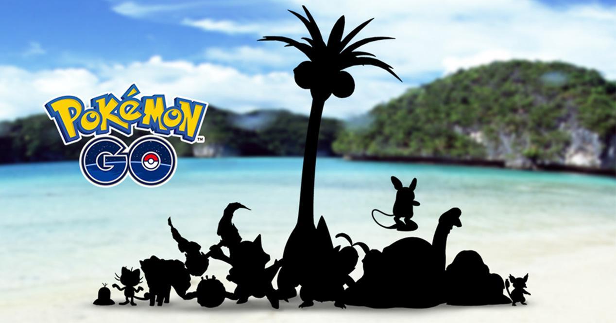 Pokémon GO con formas Alola