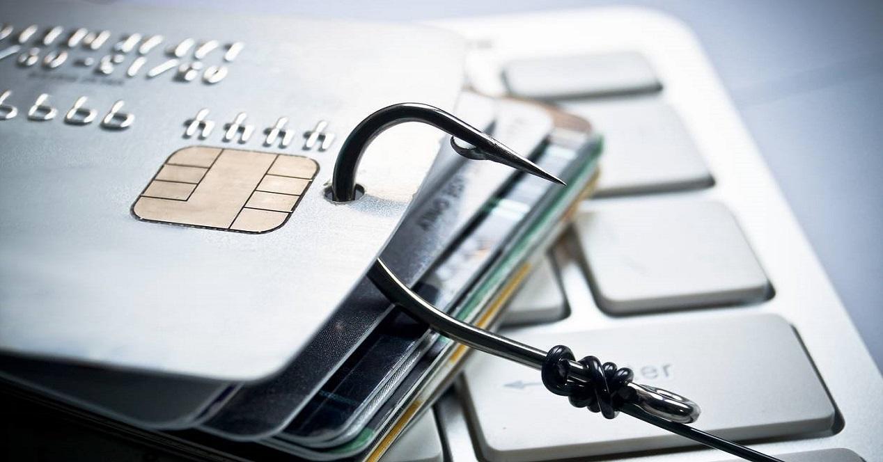 Pishing datos bancarios