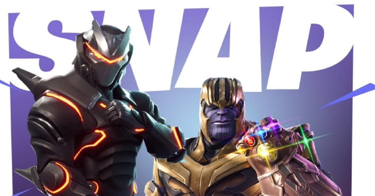 Thanos llega a Fortnite