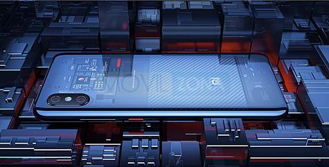 Xiaomi MI 8 Explorer horizontal