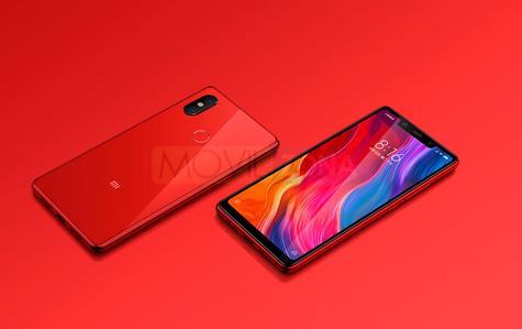 Xiaomi Mi 8 SE negro y rojo