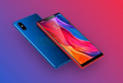 Xiaomi Mi 8 SE rojo y azul