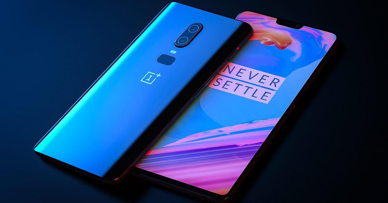 diseño del OnePlus 6