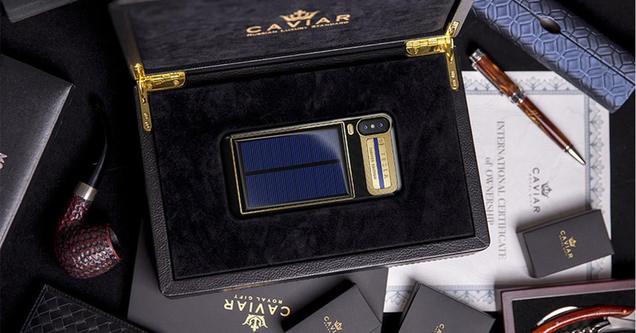 Personalización del iPhone X Tesla