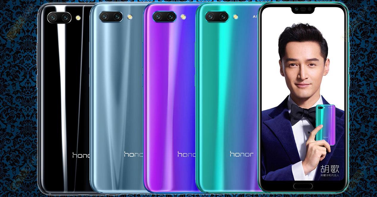 precio del Honor 10 en España, características Honor 10, diseño Honor 10, modelosprecio del Honor 10 en España