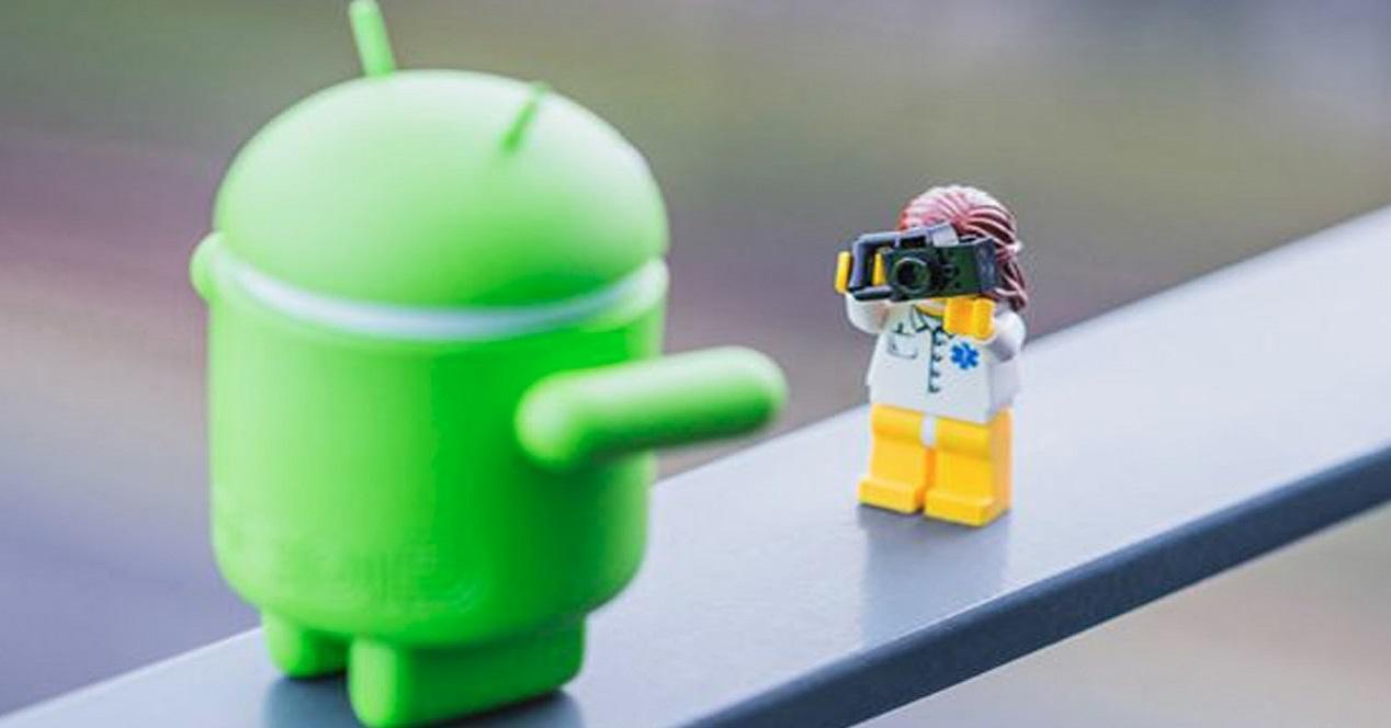 Android toy y camara
