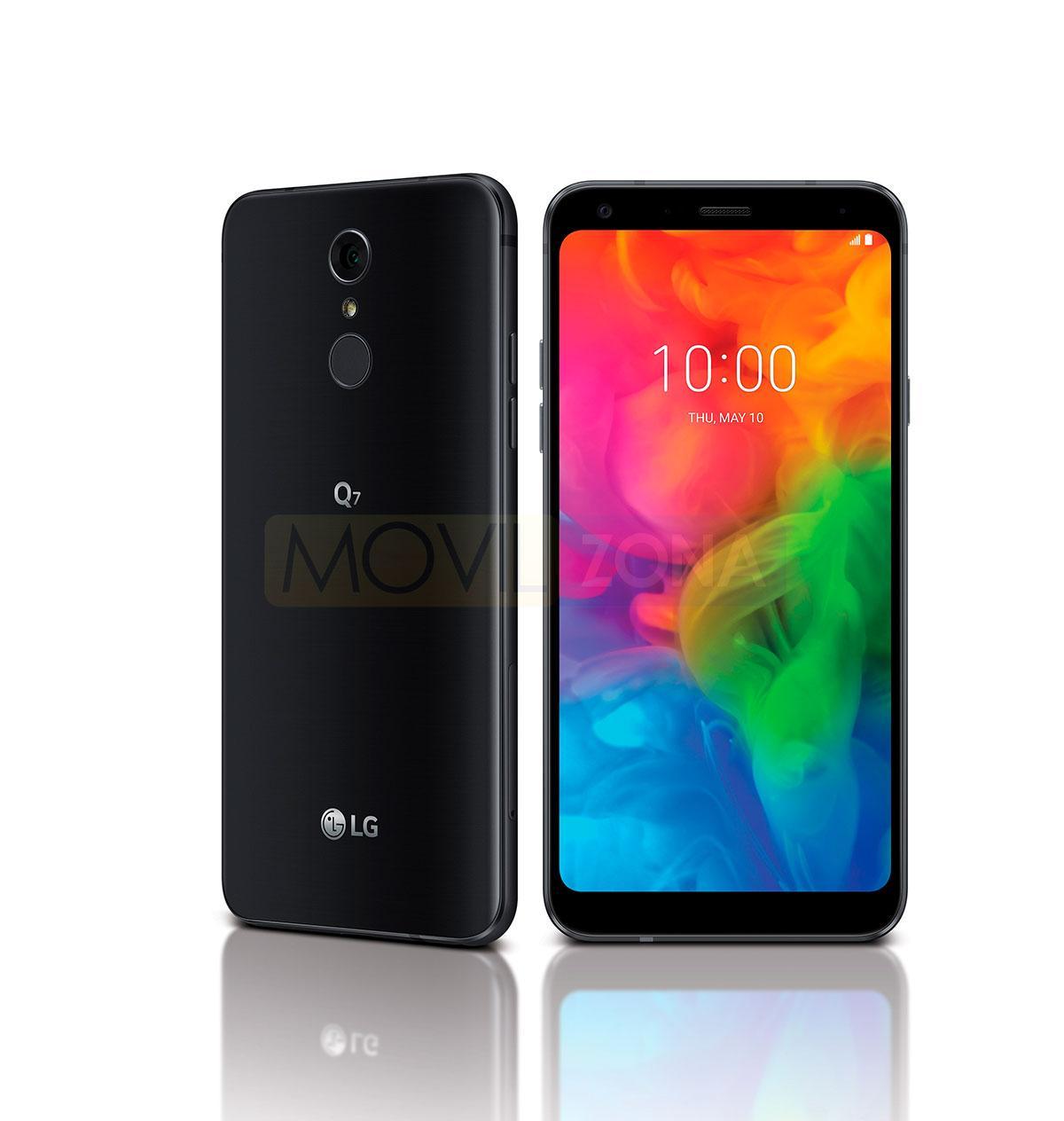 LG Q7 negro con Android