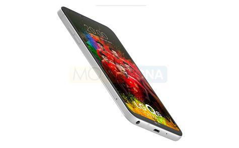 LG Q7 Alpha plata perfil