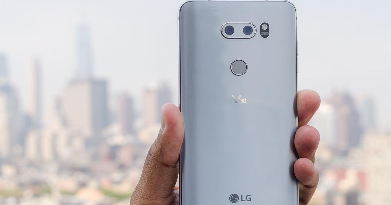 Smartphone LG V Series