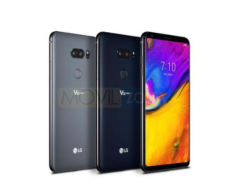 LG V35 ThinQ en tres colores