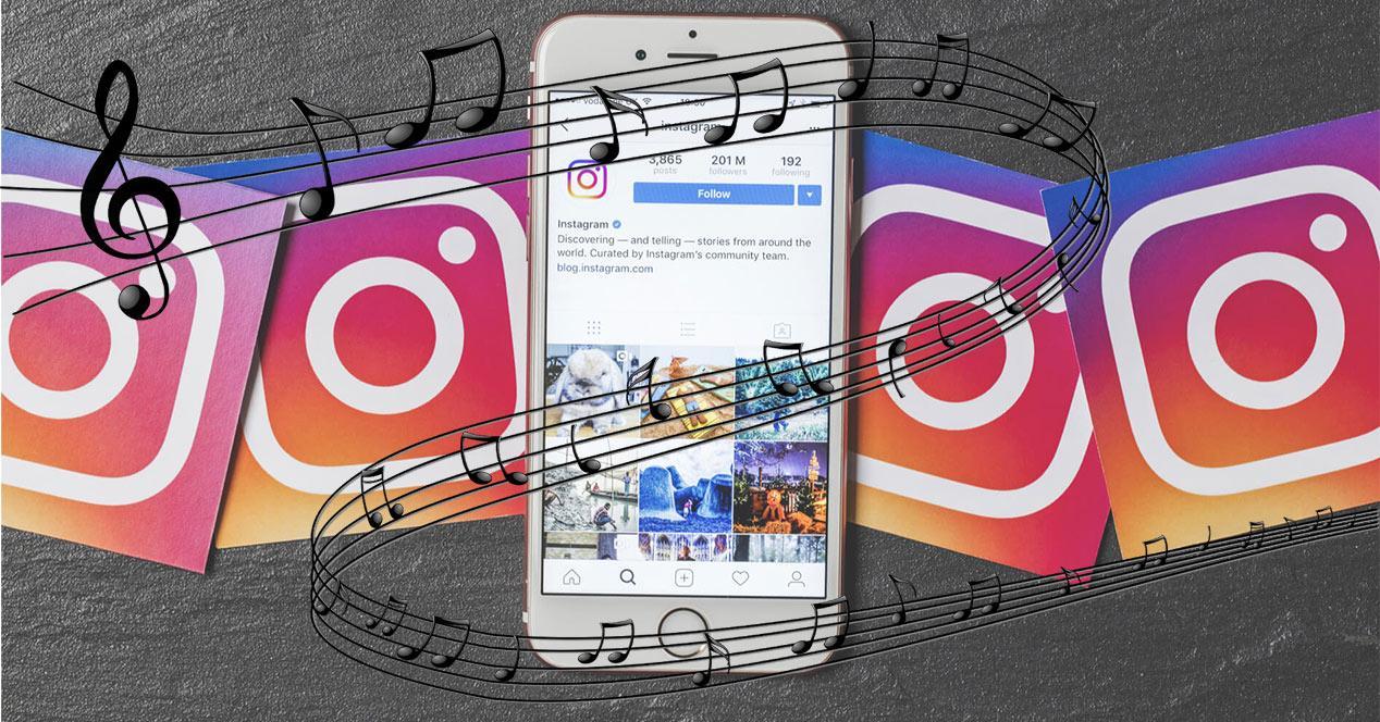 Música para las Historias de Instagram