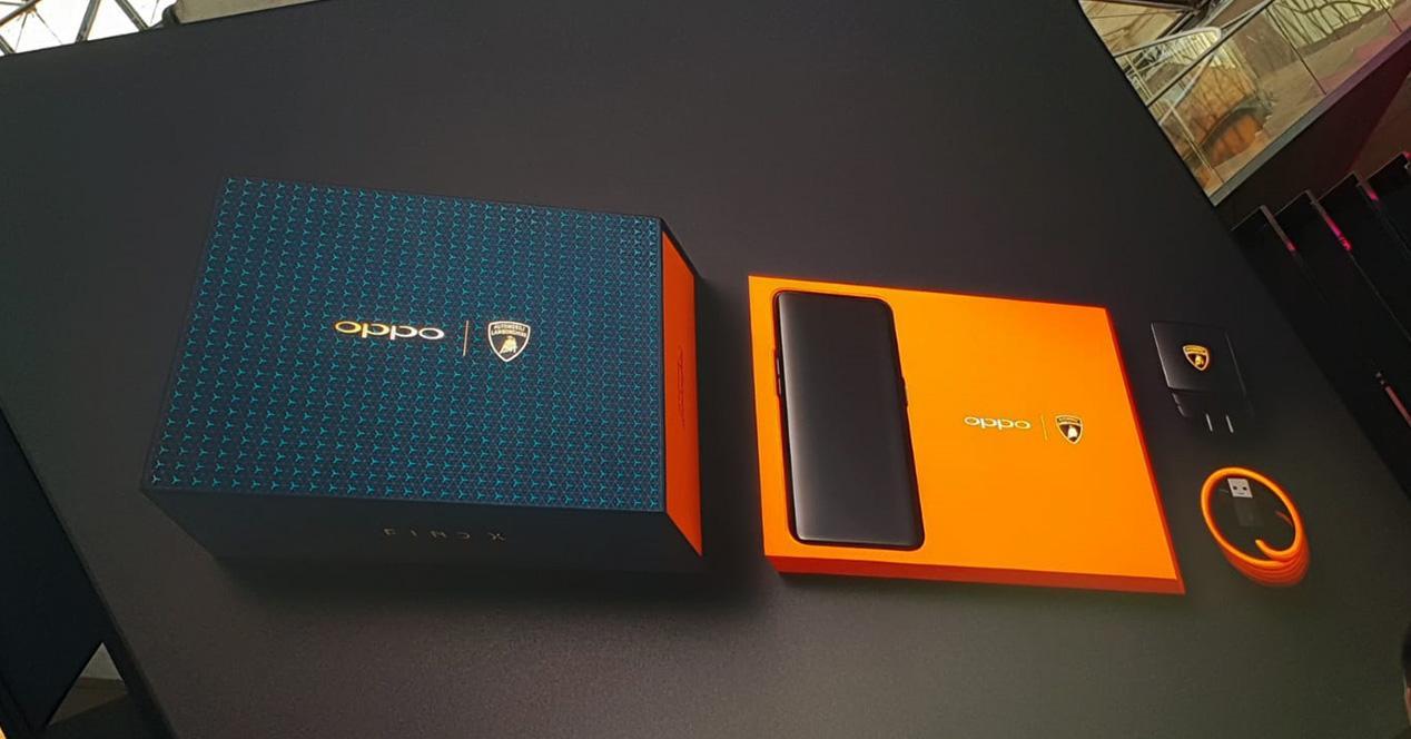 Presentación del Oppo Find X Lamborghini Edition