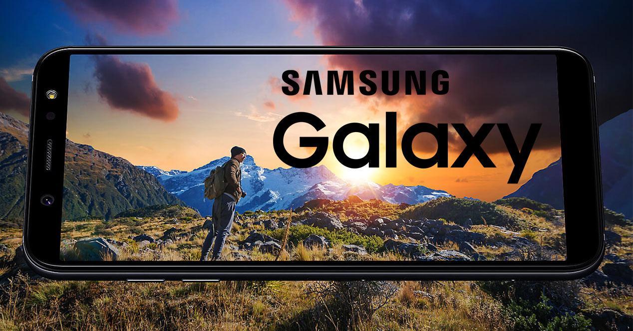 Pantalla del Samsung Galaxy A6