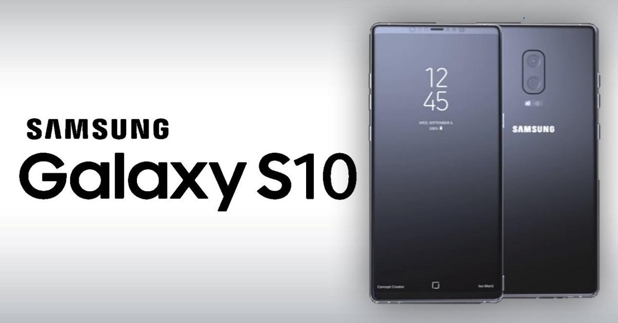 Samsung Galaxy S10 Plus-concepto