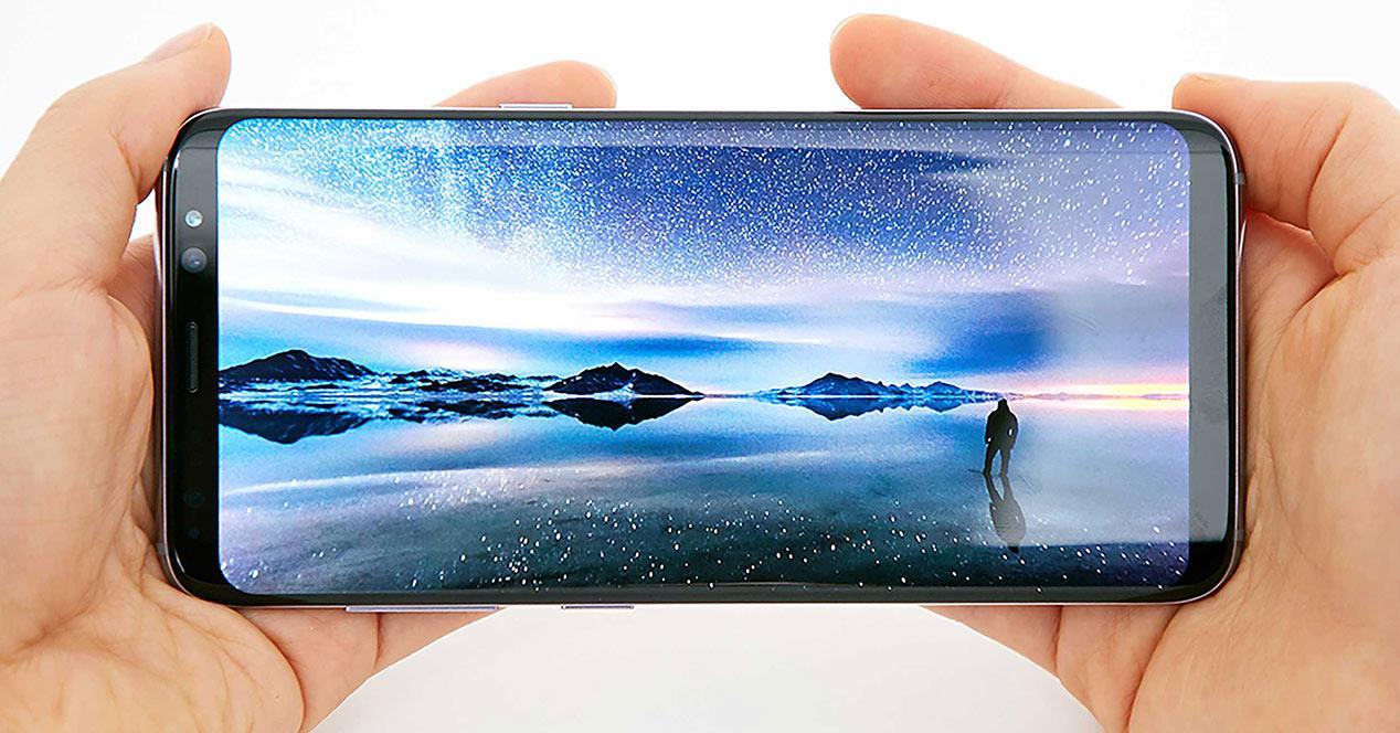 Pantalla Infinity Display del Samsung Galaxy S8 Plus