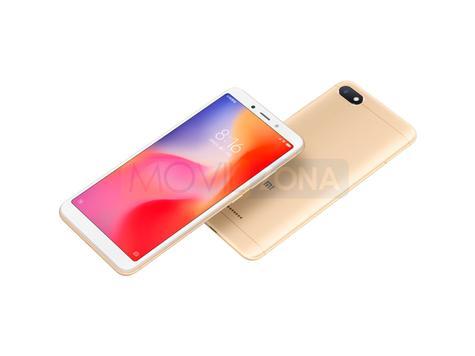 Xiaomi Redmi 6 blanco y dorado