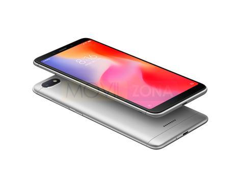 Xiaomi Redmi 6 negro y plateado