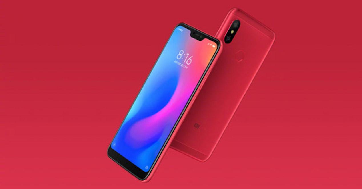 Xiaomi Redmi 6 PRo render 1