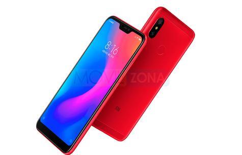 Xiaomi Redmi 6 Pro rojo