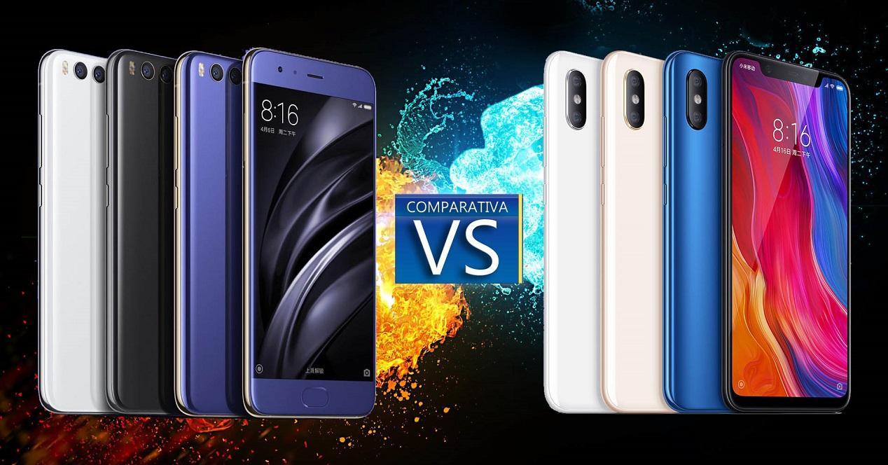 comparativa-Xiaomi-Mi-8-Xiaomi-Mi-6