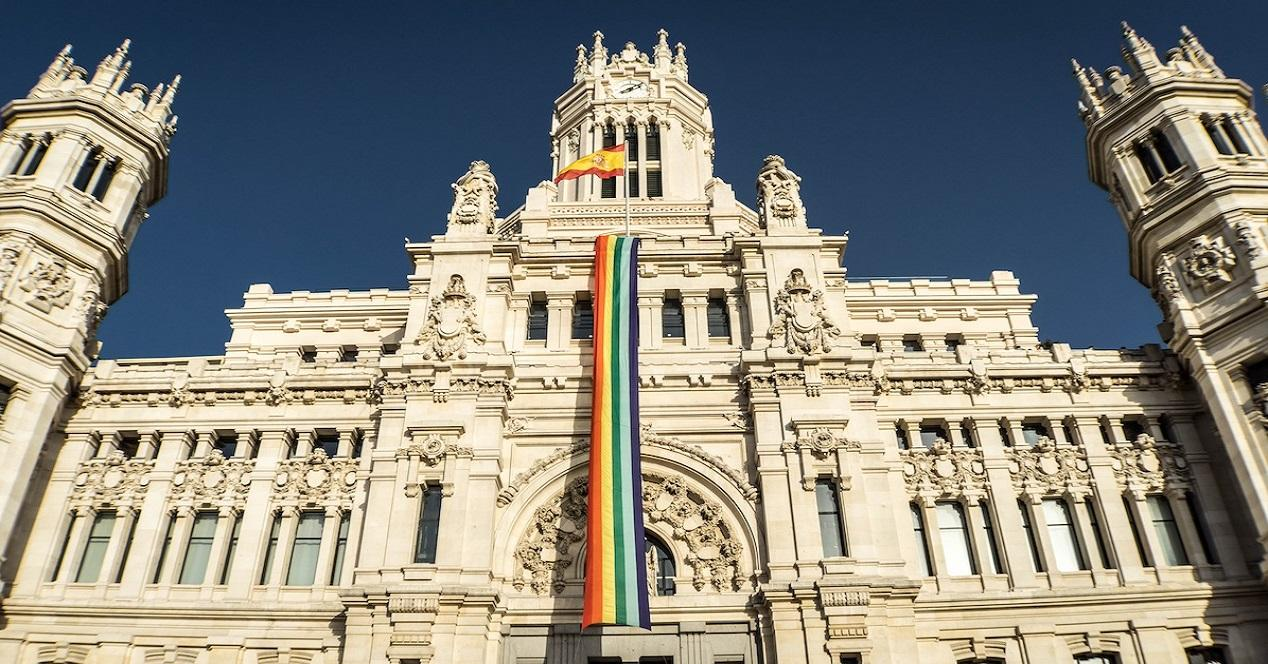 día del orgullo gay 2018-ayuntamiento de Madrid