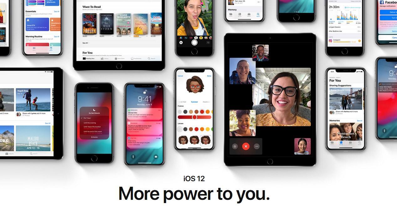 Nueva actualización de la Beta de iOS 12
