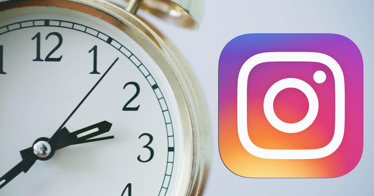 reloj instagram
