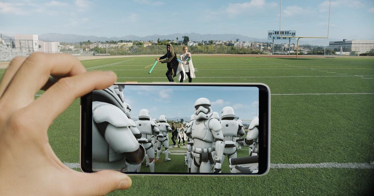 stickers en realidad aumentada-LG G7-ThinQ