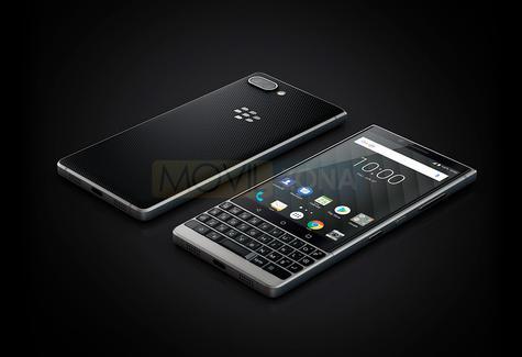 BlackBerry Key2 frontal y trasera