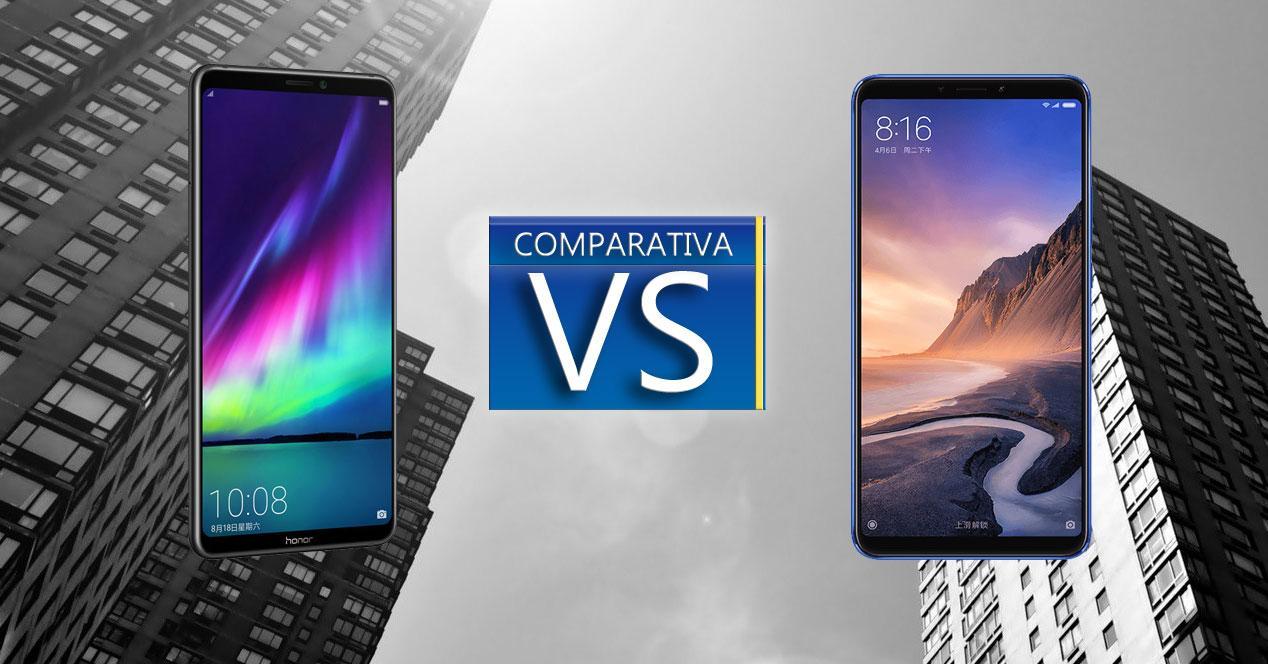 Comparativa Honor Note 10-Xiaomi Mi Max 3