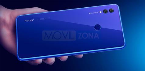 Honor Note 10 cámara con IA